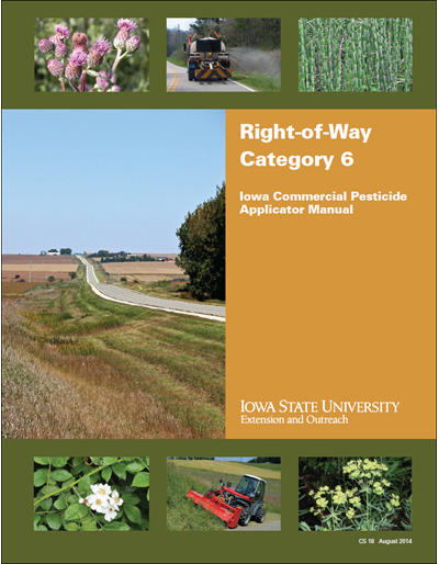 Category 6, Right-of-Way -- Iowa Commercial Pesticide Applicator Manual