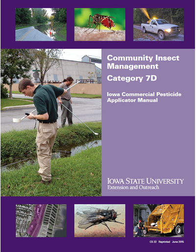 Category 7D, Community Insect Management -- Iowa Commercial Pesticide Applicator Manual