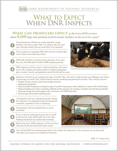 MAC - What to Expect when DNR Inspects