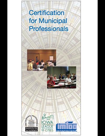 Certification for Municipal Professionals brochure