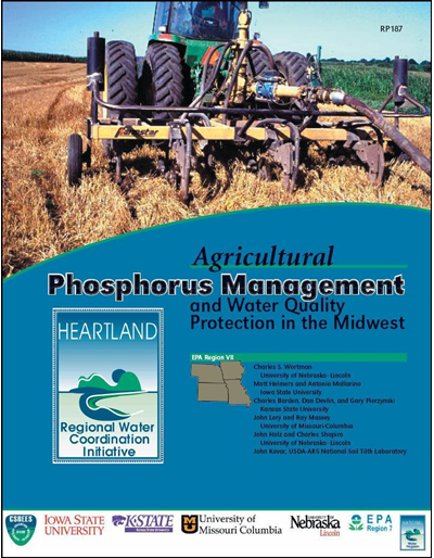 Agricultural Phosphorus Management and Water Quality Protection in the Midwest (EPA Region 7)