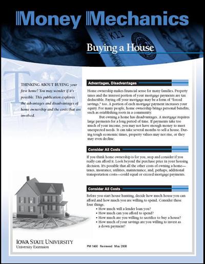 Buying a House -- Money Mechanics