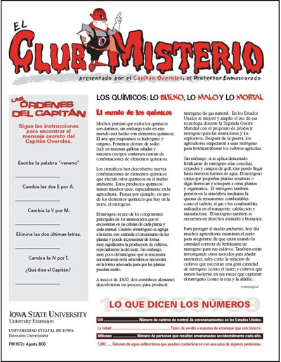 "Los Químicos: lo Bueno, lo Malo y lo Mortal -- El Club Misterio | Spanish version of ""The Mystery Club"""