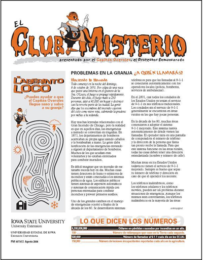"Problemas en la Granja ¿a Quién Llamaras? -- El Club Misterio  | Spanish version of ""The Mystery Club"""