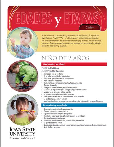 2 años de edad - Edades y Etapas