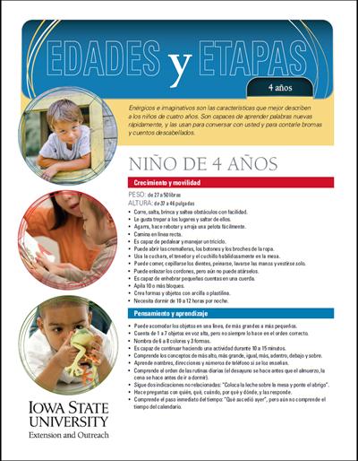 4 años de edad - Edades y Etapas