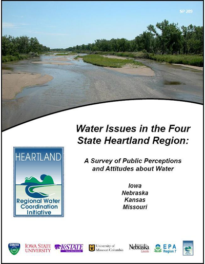 Water Issues in the Four State Heartland Region: A Survey of Public Perceptions and Attitudes about Water