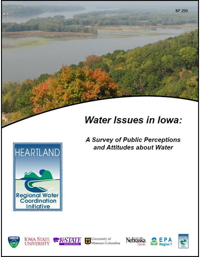 Water Issues in Iowa: A Survey of Public Perceptions and Attitudes about Water