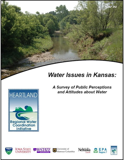 Water Issues in Kansas: A Survey of Public Perceptions and Attitudes about Water