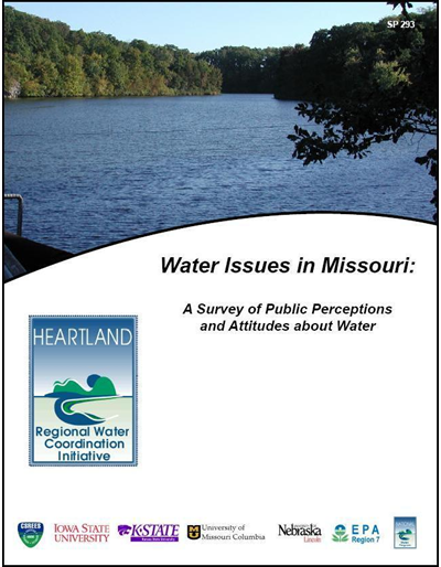 Water Issues in Missouri: A Survey of Public Perceptions and Attitudes about Water