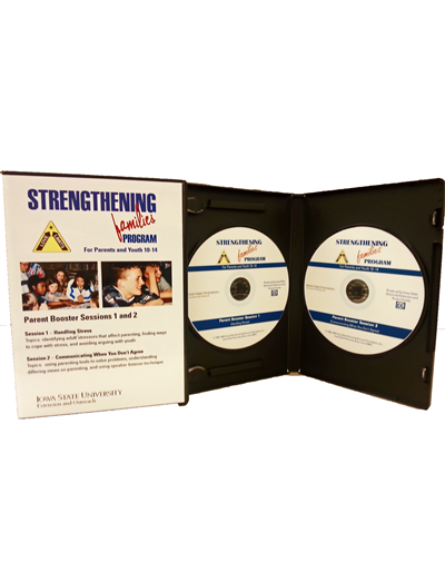 Strengthening Families Program: For Parents and Youth 10-14 - Parent Booster Sessions 1 and 2 (Unit=2 DVD pkg)