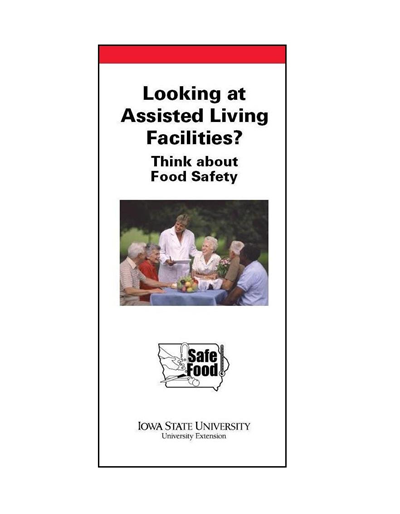 Looking at Assisted Living Facilities? Think about Food Safety