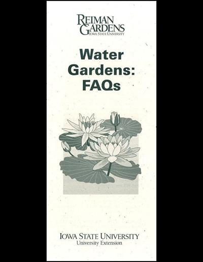 Water Gardens: FAQs -- Reiman Gardens