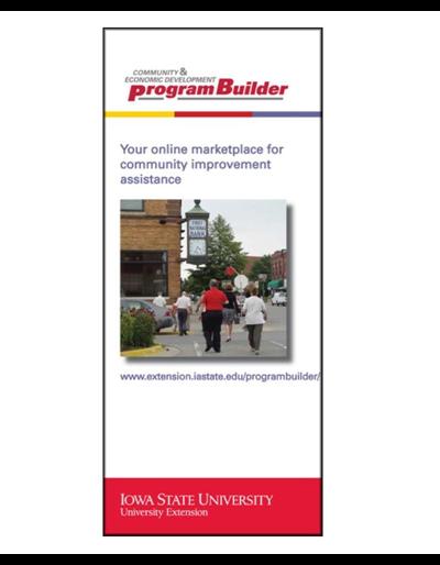 Community & Economic Development Program Builder brochure