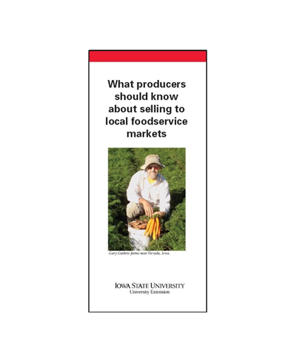What Producers Should Know About Selling to Local Foodservice Markets