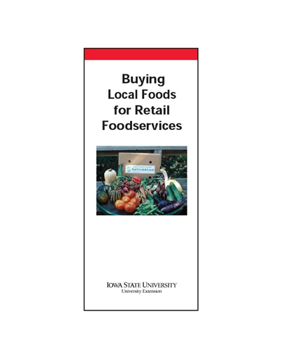 Buying Local Foods for Retail Foodservices