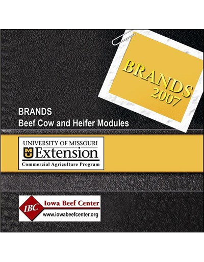 BRaNDS - Missouri Standard Edition -- Beef Cow and Heifer Modules