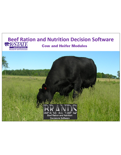 BRaNDS - Kansas State Standard Edition Cow and Heifer Module