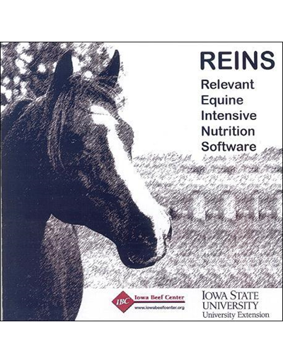 Relevant Equine Intensive Nutrition Software