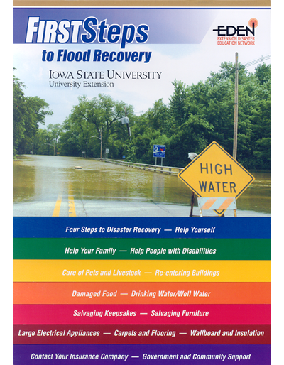 First Steps to Flood Recovery - Extension Disaster Education Network (EDEN)