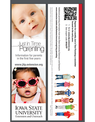 Just in Time Parenting bookmark (Unit=Pkg of 50)