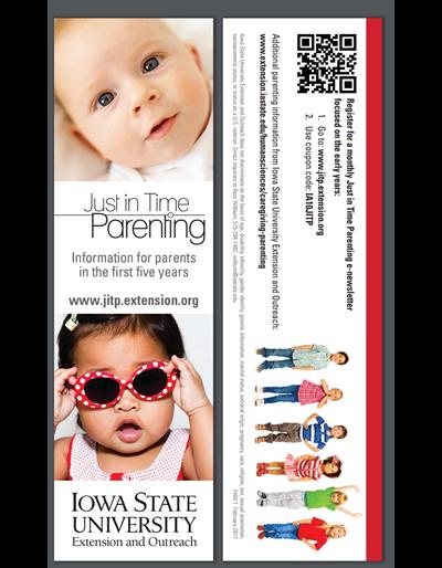Just in Time Parenting bookmark (Unit=Pkg of 50)