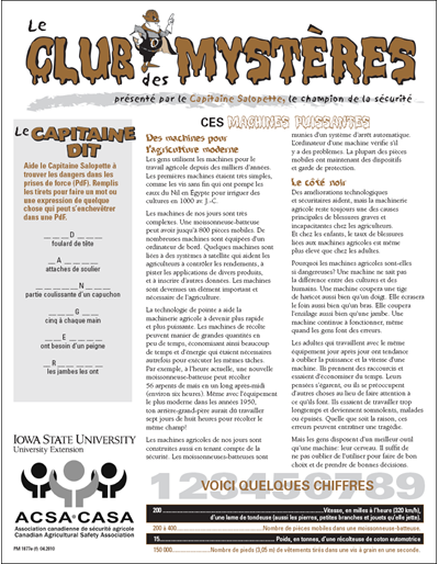"""Ces Machines Puissantes - Le Club des Mystères 