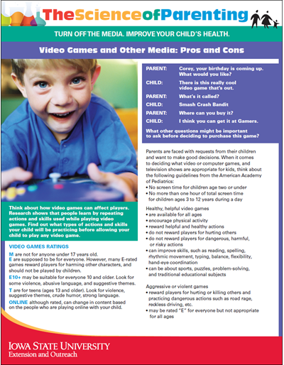 Video Games and Other Media: Pros and Cons -- Science of Parenting