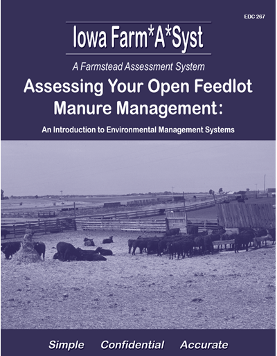 Assessing Your Open Feedlot Manure Management -- Iowa Farm*A*Syst A Farmstead Assessment System