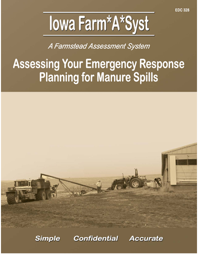 Assessing Your Emergency Response Planning for Manure Spills -- Iowa Farm*A*Syst A Farmstead Assessment System