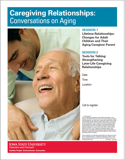 Caregiving Relationships: Conversations on Aging