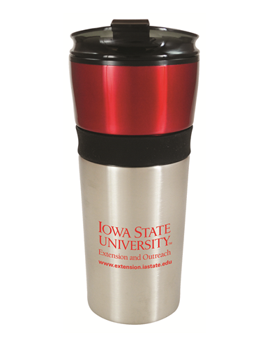 ISU Extension and Outreach Stainless Steel Travel Mug