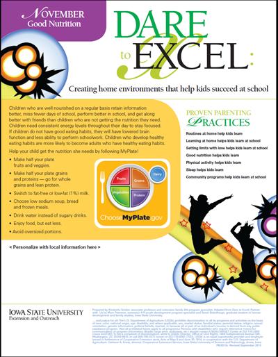 Dare to Excel newsletter - November