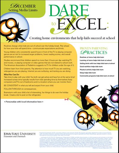 Dare to Excel newsletter - December