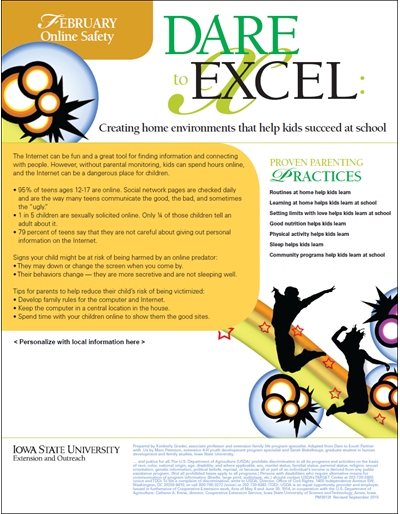 Dare to Excel newsletter - February