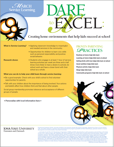 Dare to Excel newsletter - March