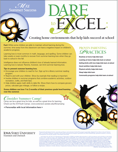Dare to Excel newsletter - May