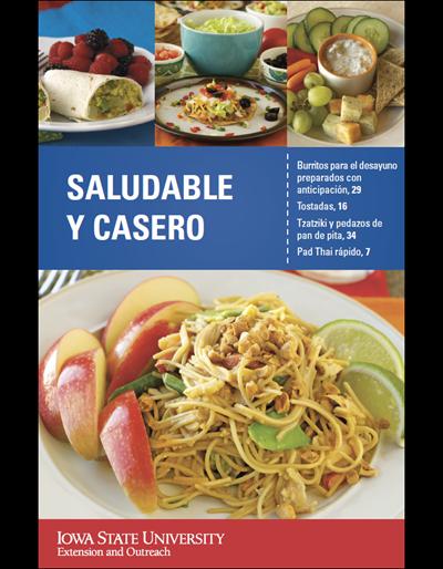 Saludable Y Casero -- Healthy & Homemade Cookbook (Spanish)