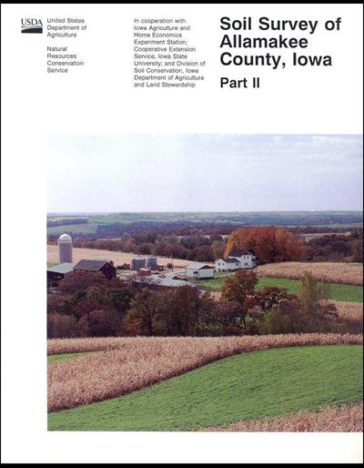 Allamakee County, Iowa -- Soil Survey Digital Version
