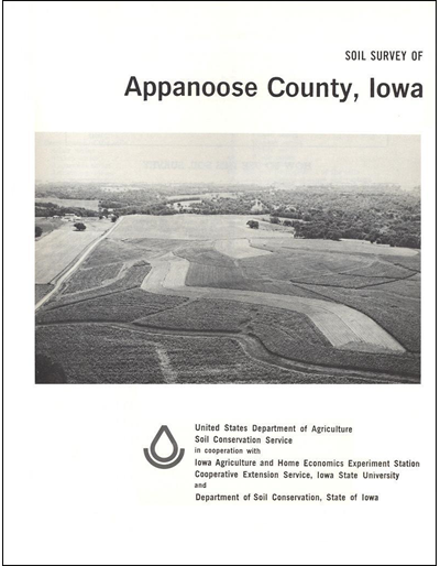 Appanoose County, Iowa -- Soil Survey Digital Version