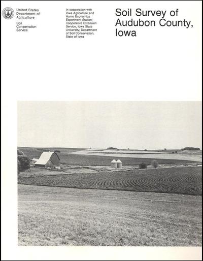 Audubon County, Iowa -- Soil Survey Digital Version