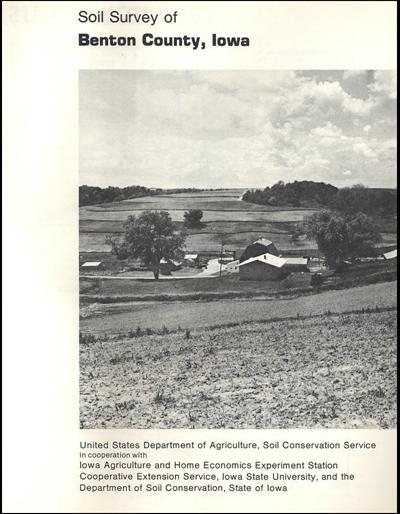 Benton County, Iowa -- Soil Survey Digital Version
