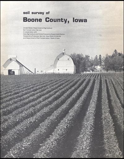 Boone County, Iowa -- Soil Survey Digital Version