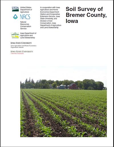 Bremer County, Iowa -- Soil Survey Digital Version
