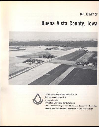 Buena Vista County, Iowa -- Soil Survey Digital Version