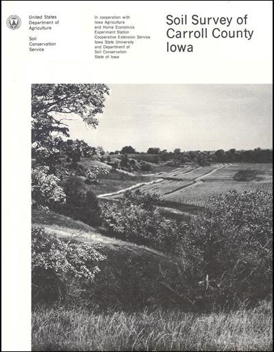 Carroll County, Iowa -- Soil Survey Digital Version