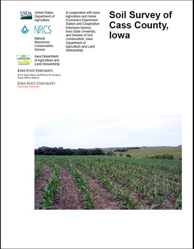 Cass County, Iowa -- Soil Survey Digital Version