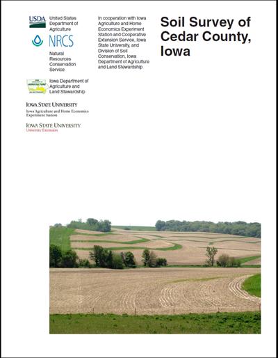 Cedar County, Iowa -- Soil Survey Digital Version