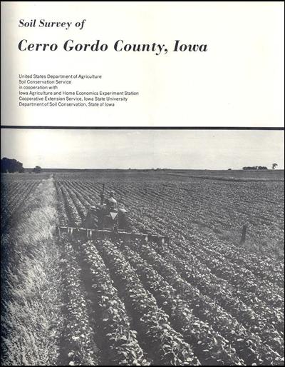 Cerro Gordo County, Iowa -- Soil Survey Digital Version
