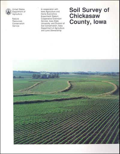 Chickasaw County, Iowa -- Soil Survey Digital Version
